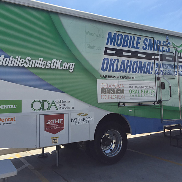 patch mobile smiles program truck